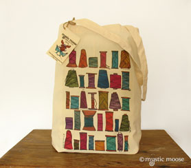 Sewing Spools Tote Bag