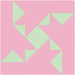 Quilt block created with my quilt block builder